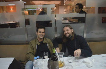 Paranoid Internet Web Summit VIP investor dinner