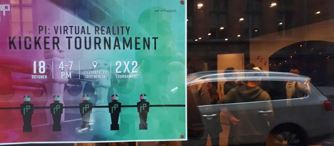 Virtual Reality Kicker in Berlin